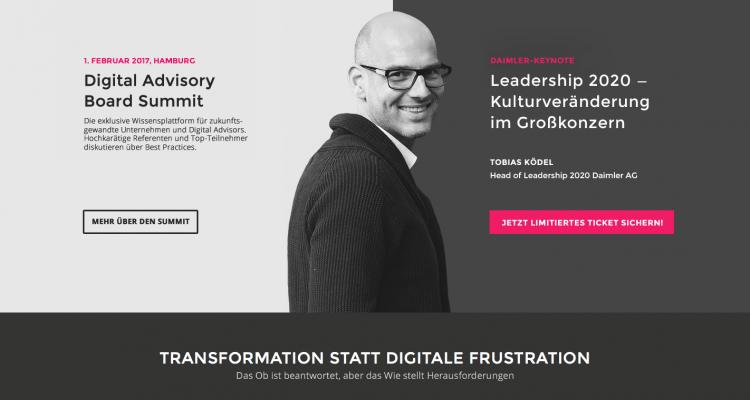 """Digital Advisory Board Summit: Auf den Spuren des digitalen """"Leadership"""" als Management-Thema"""