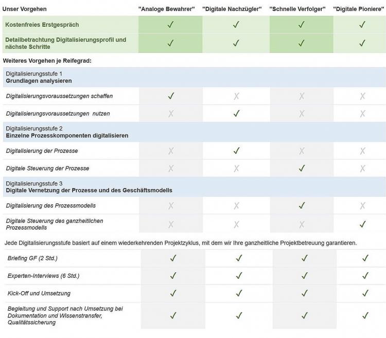 Empfehlungen Digitalisierungsspiegel
