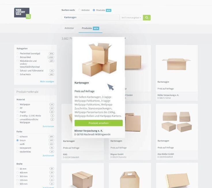 Der Online-Marktplatz setzt auf Bilder, denn B2B-Einkäufer erwarten neben technischen Daten auch relevante Bilder