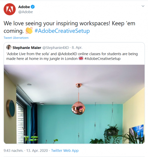 Adobe Creative Spaces