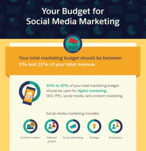 Social Media Marketing Budget Salesforce