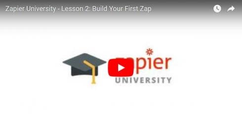 Zapier App Marketingautomation Video Tutorial