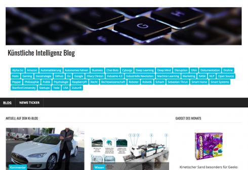 Aktuell häufen sich bei KI-Blog Kooperations- und Rezensions-Anfragen