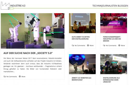 """Hochschule als bloggende Wegbereiter (tj-industrie40.de) für die Industrie: """"Entscheider werden empfänglicher für digitale, soziale, mobile und maßgeschneiderte Angebote"""""""