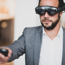 VR-Brillen VR B2B-Marketing