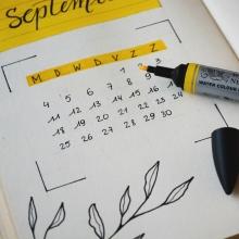 Messeplanung 2021 kalender