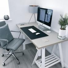 Ein klar abgetrennter Arbeitsplatz hilft im Home Office
